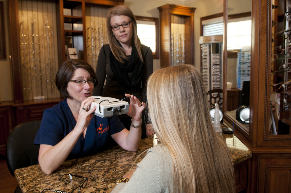 Expert fitting for eyeglasses and designer frames in Auburn - Basden Eye Care