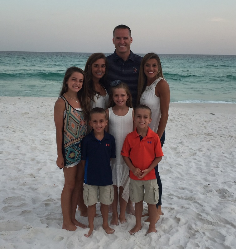 Rob and Dana Pate and their five children will move home to Auburn, where Rob will join Basden Eye Care as an Optometrist in Auburn